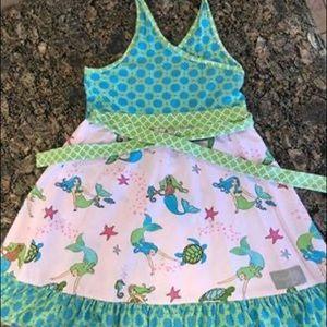 Eleanor Rose Mermaid Halter Dress size 10/12